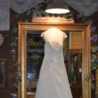 6 foot tall mirror in Bride's suite